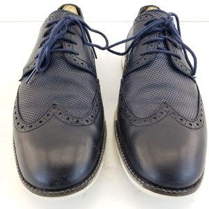 Cole Haan Grand OS. Dark Navy Oxfords Mens Dress